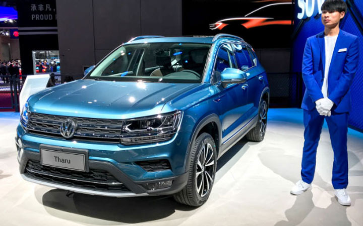 Volkswagen Tharu и другие новинки 2020 года
