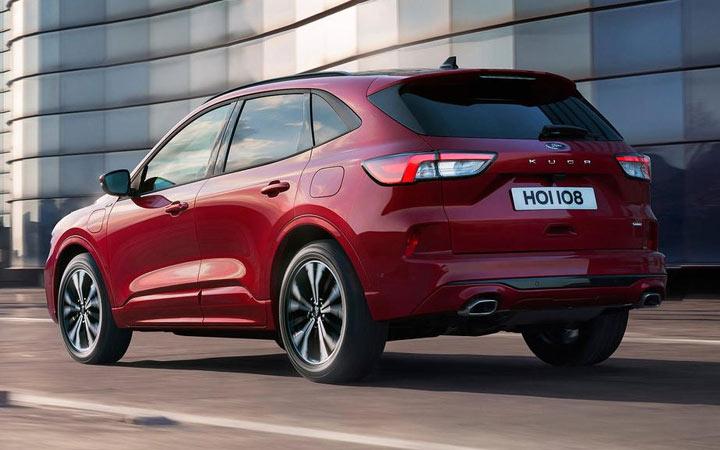 Новые автомобили 2020 года Ford Kuga