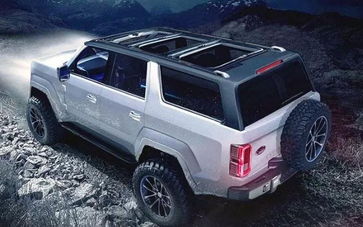 Экстерьер нового Bronco 2020 года