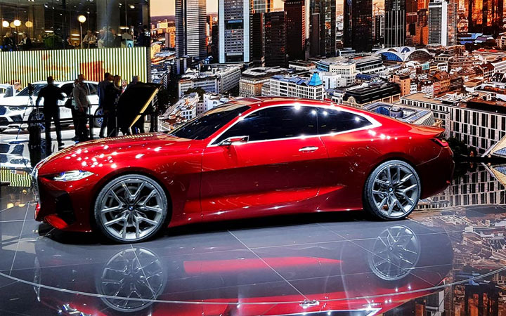 Новый BMW 4-series 2020 концепт