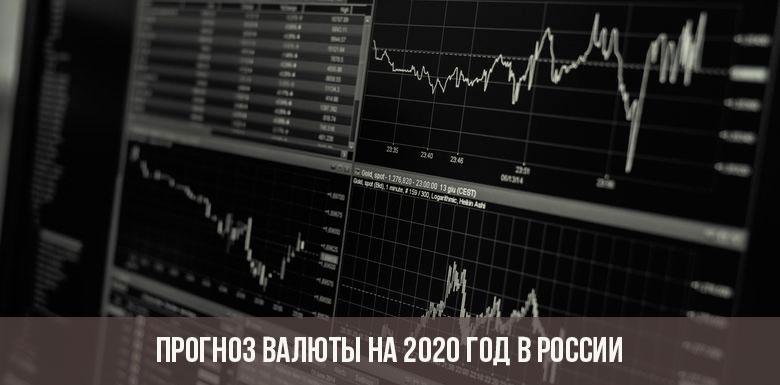 Прогноз валюты на 2020 год