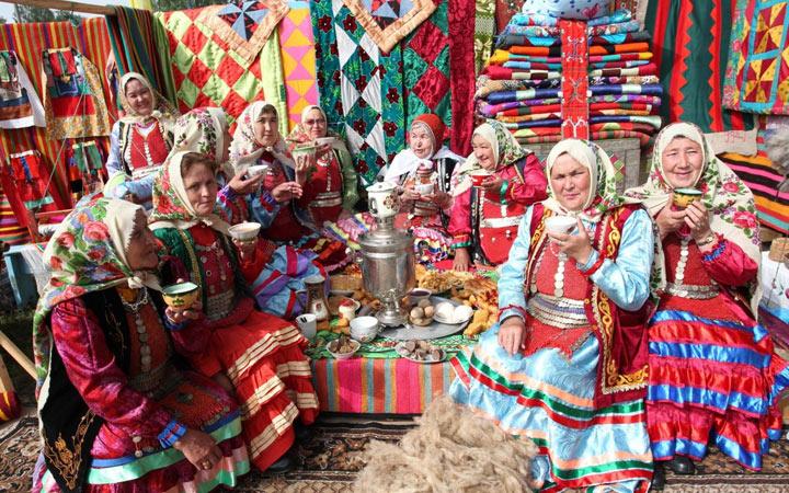 Народное творчество в России