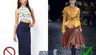 Узкие юбки Брюки скини Юбка пачка - антитренд 2020 года