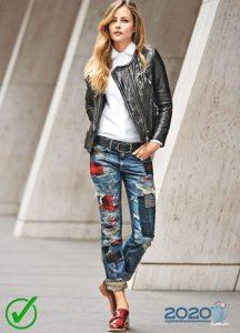 Тренды джинсовой моды осень-зима 2019-2020