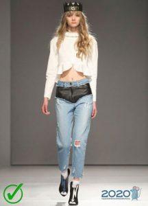 Модные джинсы сезона осень-зима 2019-2020