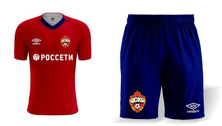 Домашний комплект формы ЦСКА на сезон 2019-2020 года
