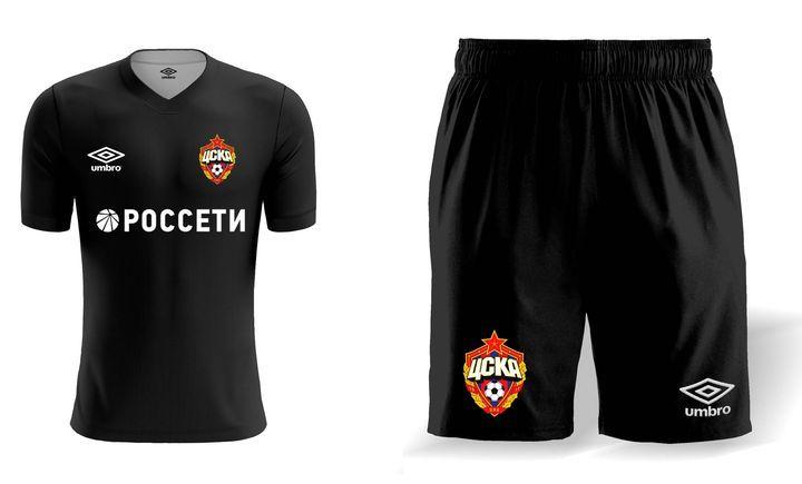 Третий комплект формы ЦСКА на сезон 2019-2020 года