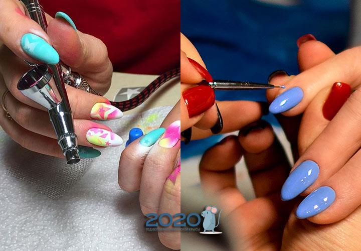 Модные виды декора ногтей в 2020 году