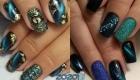 Дизайн ногтей в стиле кошачий глаз и другие тренды зимы 2019-2020 года