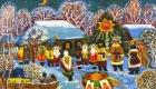 Традиционный рождественские картинки и открытки