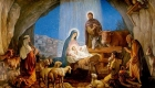 Красивая картинка на Рождество Христово
