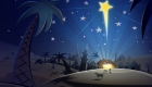 Картинка на Рождество Вифлеемская звезда