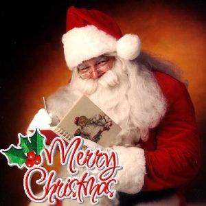 Санта - символ католического Рождества