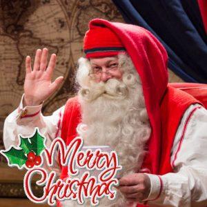 Санта - картинки на Рождество 2020