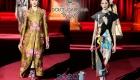 Дольче Габбанна осень-зима 2019-2020 модные луки