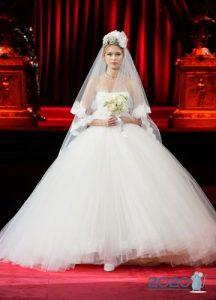Свадебное платье Дольче Габбанна осень-зима 2019-2020
