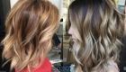 Балаяж модные техники окрашивание волос 2020