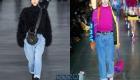 Укороченные джинсы сезона осень-зима 2019-2020