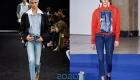 Модные укороченные джинсы осень-зима 2019-2020