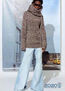 Модные клеши из денима осень-зима 2019-2020