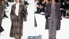 Модная клетка от Шанель осень-зима 2019-2020