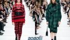 Модная цветная клетка от Диор осень-зима 2019-2020