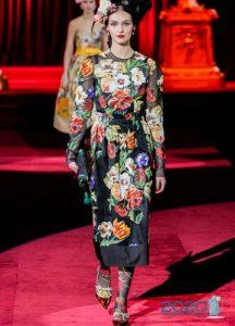 Модные луки Dolce & Gabbana осень-зима 2019-2020