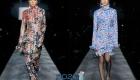 Модный лук с флористическими принтами осень-зима 2019-2020