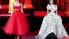 Dolce & Gabbana осень-зима 2019-2020 пышное платье