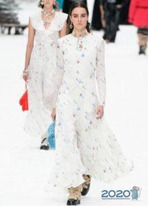 Меховые унты - мода осень-зима 2019-2020