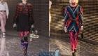 Носки в модных луках сезона осень-зима 2019-2020
