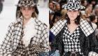 Шляпы Шанель осень-зима 2019-2020