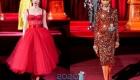 Вечернее платье Dolce & Gabbana осень-зима 2019-2020