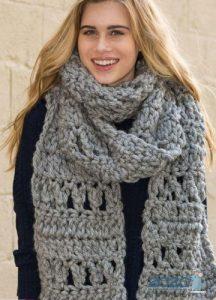 Вязаный шарф 2020