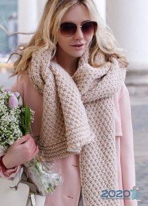 Модные модели шарфов на 2020 год