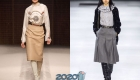 Красивые юбки в классическом стиле зима 2019-2020