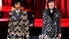 Клетчатый пиджак Dolce & Gabbana осень-зима 2019-2020