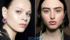 Модный макияж с эффектом влажных губ