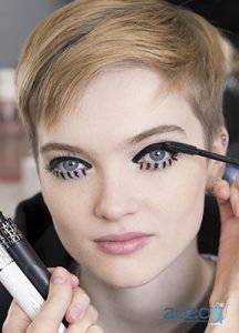 Модная графика - идеи для макияжа глаз