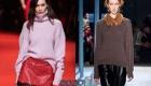 Модные модели свитеров осень-зима 2019-2020