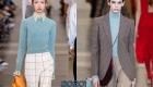 Голубой свитер  осень-зима 2019-2020