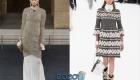 Вязанное платье брендовые модели осень-зима 2019-2020