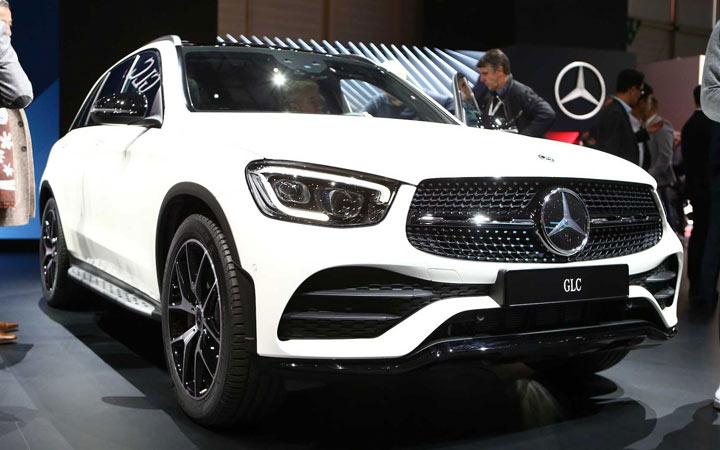 Экстерьер Mercedes GLC 2019-2020