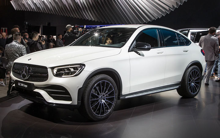 Экстерьер Mercedes GLC Coupe 2019-2020