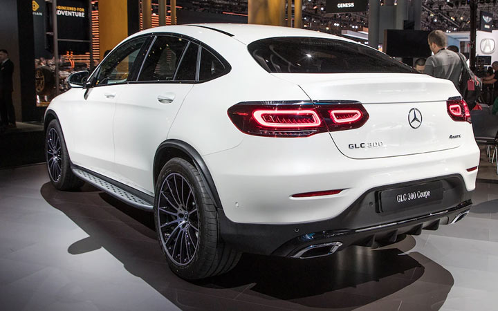 Новый Mercedes GLC Coupe 2019-2020