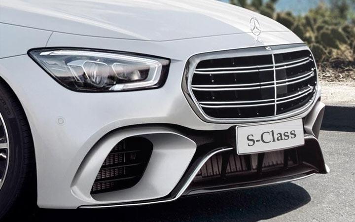 Экстерьер Mercedes S-Class 2019-2020