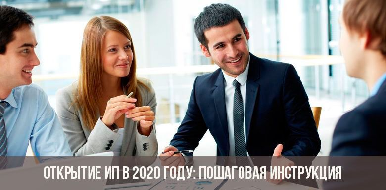 Пошаговая инструкция по открытию ИП в 2020 году