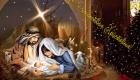 С Рождеством Христовым - открытка 2020 года