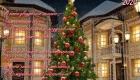 Рождественская открытка 2020 с елочкой