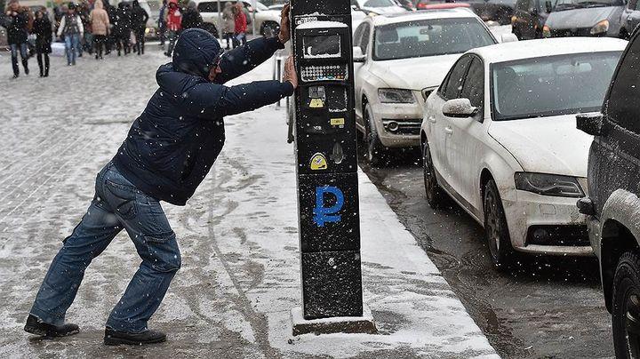 Бесплатная парковка на Новый год